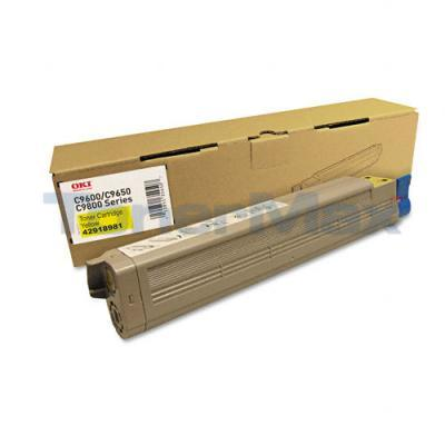 OKIDATA C9650 SERIES C7 TONER CTG YELLOW